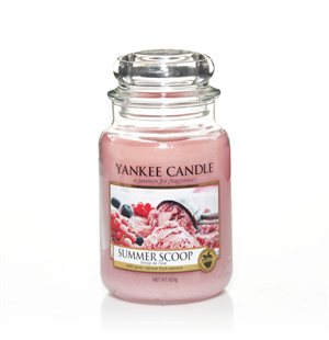 Summer Scoop, Large jar, Yankee Candle