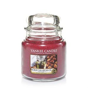 Moroccan Argan Oil, Medium Jar, Yankee Candle