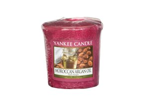 Moroccan Argan Oil, Votivljus samplers, Yankee Candle