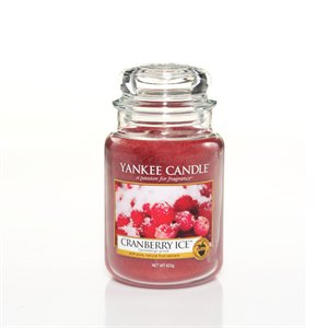 Cranberry Ice, Large Jar, Yankee Candle