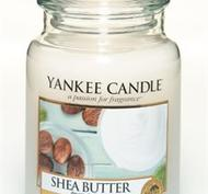 Shea Butter, Large Jar, Yankee Candle