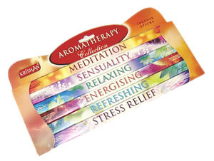 Rökelser, Presentbox Aromatherapy, Square Pack