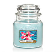 Ocean Blossom, Medium Jar, Yankee Candle