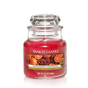 Mandarin Cranberry, Small jar, Yankee Candle
