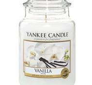 Vanilla, Large jar, Yankee Candle