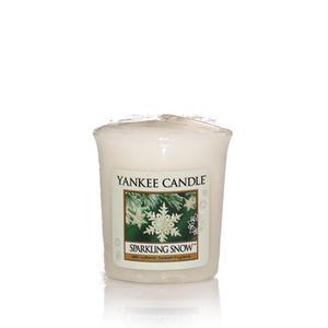 Sparkling Snow, Votivljus samplers, Yankee Candle