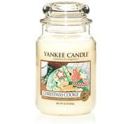 Christmas Cookie, Large jar, Yankee Candle