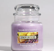 Lemon Lavender, Medium Jar, Yankee Candle
