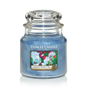 Garden Sweet Pea, Medium Jar, Yankee Candle
