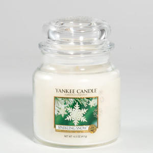 Sparkling Snow, Medium Jar, Yankee Candle