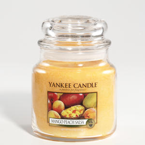 Mango Peach Salsa, Medium Jar, Yankee Candle