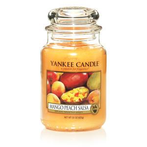 Mango Peach Salsa, Large Jar, Yankee Candle