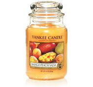 Mango Peach Salsa, Large Jar, Yankee Candle