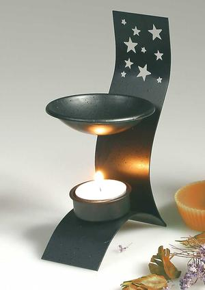 Bordslampa med stjärnor, Aromalampa