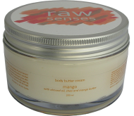 Body Butter Cream, Mango, Raw Senses