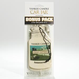 Clean Cotton, Bildoft 3-pack, Yankee Candle