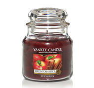 Macintosh Spice, Medium Jar, Yankee Candle