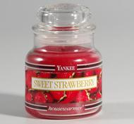 Sweet Strawberry, Small Jar, Yankee Candle