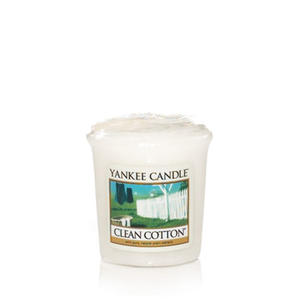 Clean Cotton, Votivljus samplers, Yankee Candle