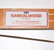 Sandalwood, 15 g, Satya, rökelse