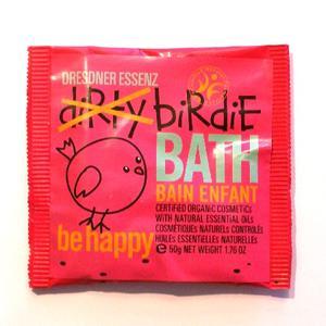 Be Happy, röd, ekologiskt badpulver för barn, Dresdner Essenz