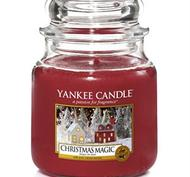 Christmas Magic, Medium Jar, Yankee Candle