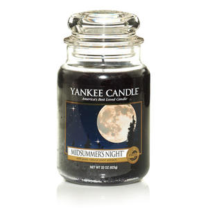 Midsummers Night, Large Jar, Yankee Candle