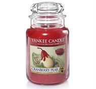 Cranberry Pear, Large Jar, Yankee Candle