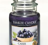 Cassis, Large jar, Yankee Candle