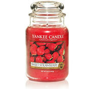 Sweet Strawberry, Large Jar, Yankee Candle