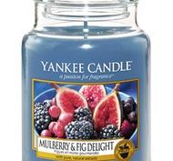 Mulberry & Fig Delight, Large Jar, Yankee Candle