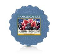 Mulberry & Fig Delight, Vaxkaka, Yankee Candle