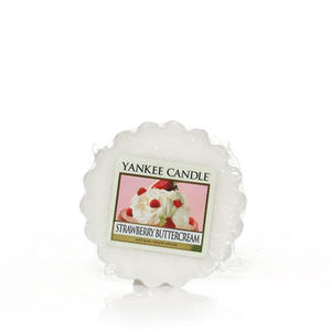Strawberry Buttercream, Vaxkaka, Yankee Candle