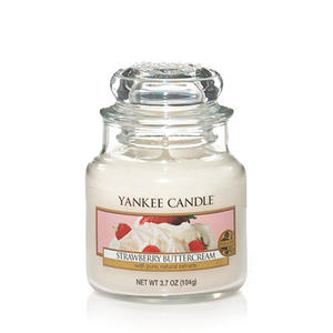 Strawberry Buttercream, Small Jar, Yankee Candle
