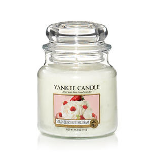 Strawberry Buttercream, Medium Jar, Yankee Candle