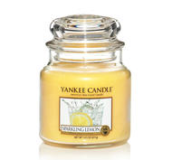 Sparkling Lemon, Medium Jar, Yankee Candle