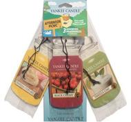 3 Car Jar Bonus pack - Afternoon Picknick, Yankee Candle