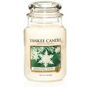 Sparkling Snow, Large Jar, Yankee Candle