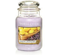 Lemon Lavender, Large Jar, Yankee Candle